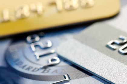 close-up photo of credit cards