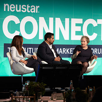photo of panel at Neustar connect forum