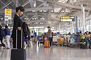photo: airport terminal