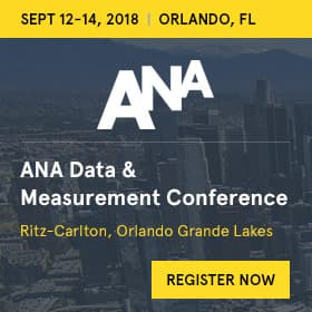 ANA Data & Measurement Conference