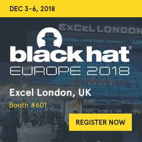 Blackhat Europe 2018 banner