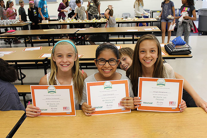 Neustar STEM education photo
