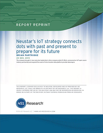 Report: Neustar's IoT Strategy Connects Dots With Past and Present to Prepare For Its Future cover