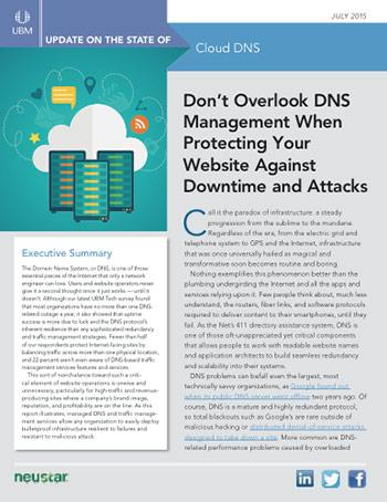 Cloud DNS Management: Still Overlooked Despite Critical Need